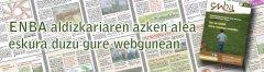 ENBA aldizkariaren azken alea eskura duzu gure webgunean
