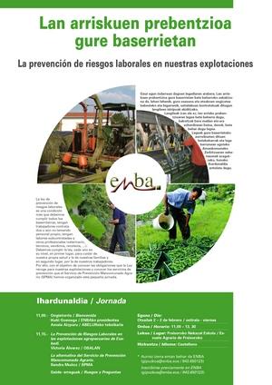 Jornada sobre Prevención de Riesgos Laborales en el sector agrario