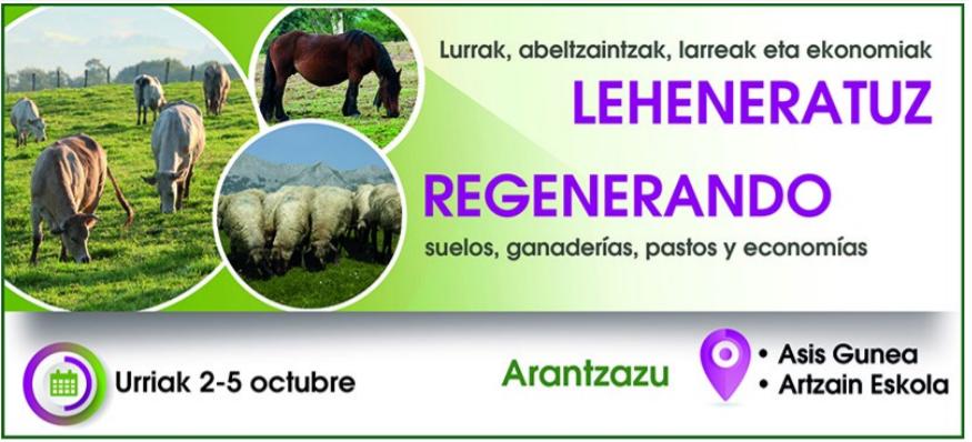 Jornadas sobre Pastoreo Regenerativo del 2 al 5 de octubre