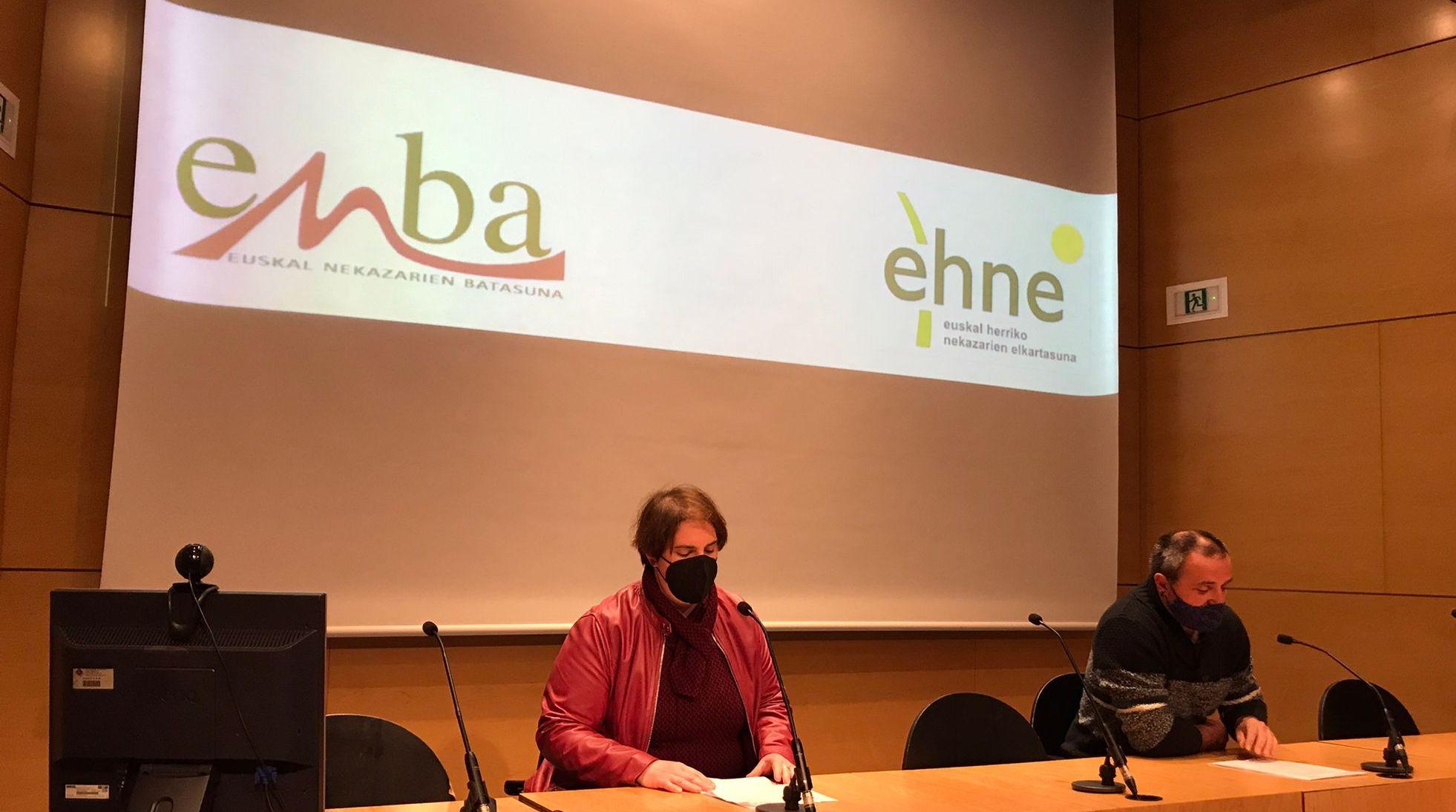"""ENBA y EHNE presentan, conjuntamente, la moción """"Por la ganadería extensiva de montaña y el control poblacional del lobo"""" en todos los ayuntamientos de Gipuzkoa"""